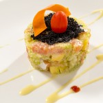 Fatty Salmon Tartar