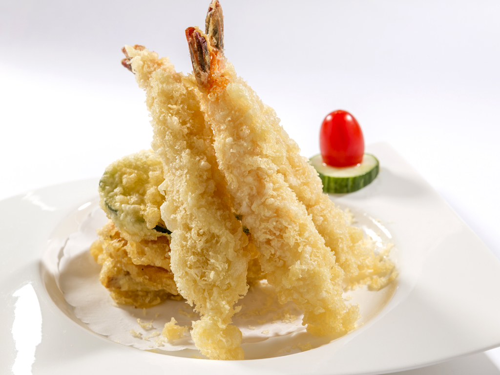 50 shrimp tempura jumbo shrimp and assorted vegetables lightly fried ...